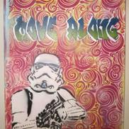 Art: Original Graffiti Pop Art Star Wars Stormtrooper