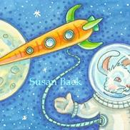 Art: RABBIT ROCKET by Susan Brack