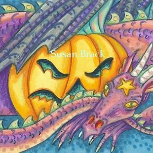 Art: JACK AND DRAGON by Artist Susan Brack