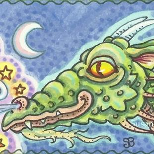 Art: MAGIC DRAGON by Artist Susan Brack