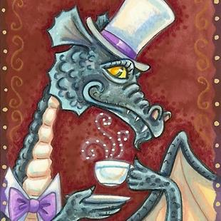 Art: PROPER GENTLEMAN Dragon by Artist Susan Brack
