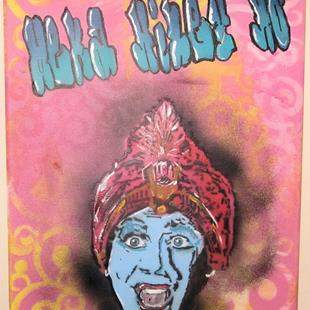 Art: Pee Wee Herman's Jambi Meka Hiney Ho by Artist Paul Lake, Lucky Studios