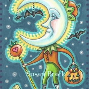 Art: LORD OF THE PUMPKINS by Artist Susan Brack