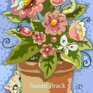 Art: ON THE PORCH by Artist Susan Brack