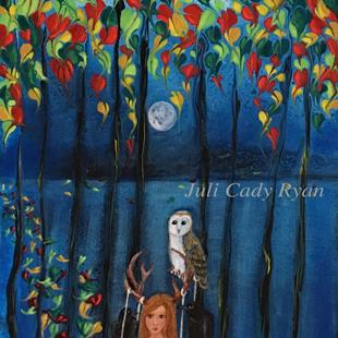 Art: With Her, Comes Fall by Artist Juli Cady Ryan