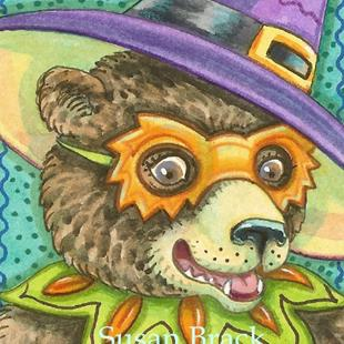 Art: BEAR HOLLOW HALLOWEEN by Artist Susan Brack