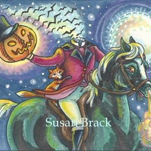 Art: FOX OF SLEEPY HOLLOW by Artist Susan Brack