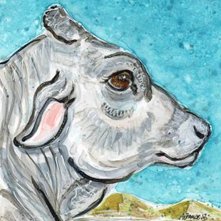 Art: Impression of Bovine by Artist Melinda Dalke