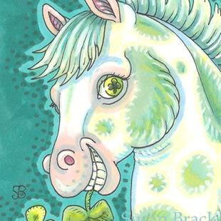 Art: PADDY'S PINTO PONY by Artist Susan Brack