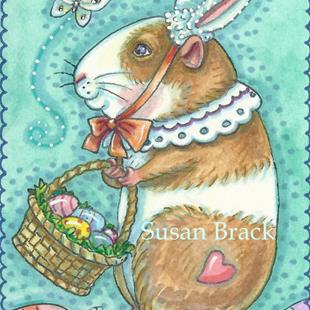 Art: READY FOR EASTER by Artist Susan Brack