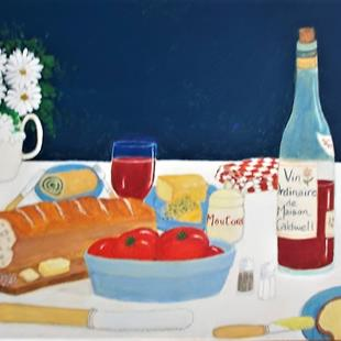 Art: Light Lunch by Artist Fran Caldwell