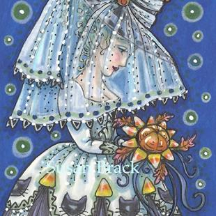 Art: BLACK CAT BRIDE by Artist Susan Brack