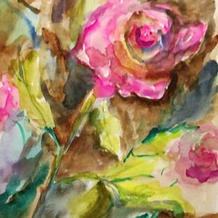Art: Garden Rose by Artist Delilah Smith