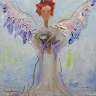 Art: Angel No. 17 by Artist Delilah Smith