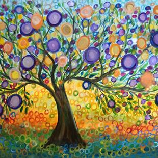 Art: OLIVE TREE SEASONS by Artist LUIZA VIZOLI