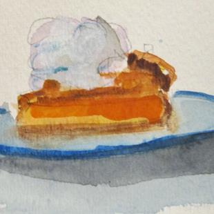 Art: Pumpkin Pie by Artist Delilah Smith