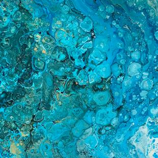 Art: Fluid Art - sold by Artist Ulrike 'Ricky' Martin