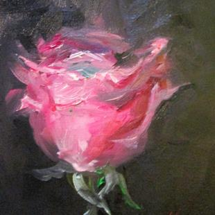 Art: Pink Rose No. 5 by Artist Delilah Smith