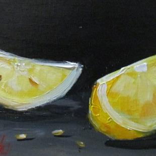 Art: Wedge of Lemon by Artist Delilah Smith