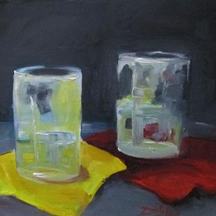 Art: Two Glass by Artist Delilah Smith