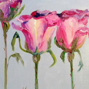 Art: Pink Roses No. 2 by Artist Delilah Smith