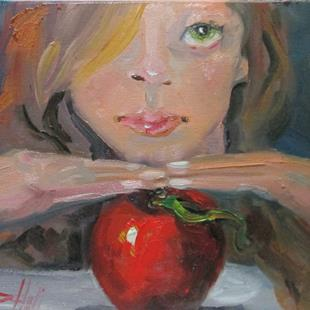 Art: Eve, Apple series No. 16 by Artist Delilah Smith