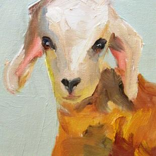 Art: Goat No. 6 by Artist Delilah Smith