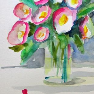Art: Vase of Color by Artist Delilah Smith
