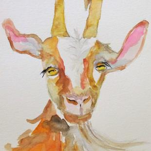 Art: Goat No. 7 by Artist Delilah Smith