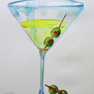 Art: Dirty Martini-sold by Artist Delilah Smith