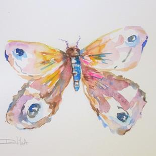 Art: Moth No. 2 by Artist Delilah Smith