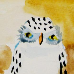 Art: Little Owl by Artist Delilah Smith