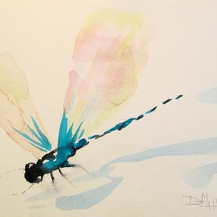 Art: Dragonfly No. 12 by Artist Delilah Smith