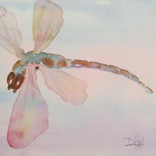 Art: Dragonfly No. 13 by Artist Delilah Smith