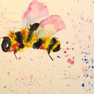 Art: Valentine Bee-sold by Artist Delilah Smith