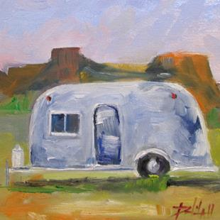Art: Air Stream by Artist Delilah Smith