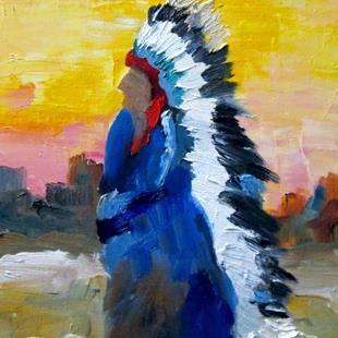Art: Chief by Artist Delilah Smith
