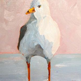 Art: Seagull No.5 by Artist Delilah Smith