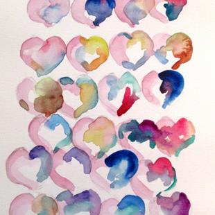 Art: Hearts by Artist Delilah Smith