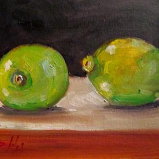 Art: Limes No. 3 by Artist Delilah Smith