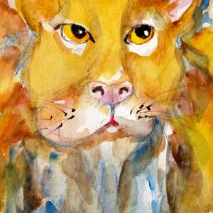 Art: Lion by Artist Delilah Smith