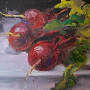Art: Beets No. 7 by Artist Delilah Smith