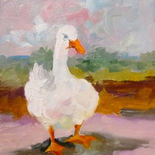 Art: Duck No. 3 by Artist Delilah Smith