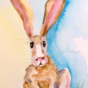 Art: Rabbit No. 3 by Artist Delilah Smith