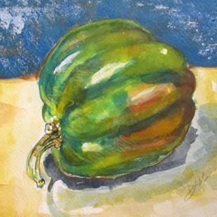 Art: Green Pepper by Artist Delilah Smith