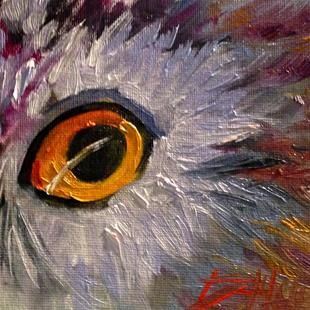 Art: Owl No. 11 by Artist Delilah Smith