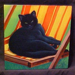 Art: Lazy Afternoon by Artist Rosemary Margaret Daunis