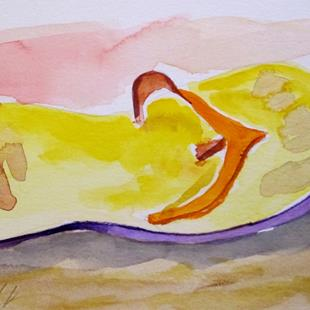 Art: Flip Flop by Artist Delilah Smith