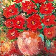 Art: Poppy Bouquet - sold by Ulrike 'Ricky' Martin