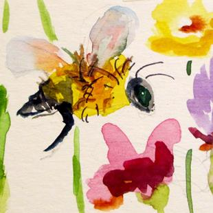 Art: Buzz Bee by Artist Delilah Smith